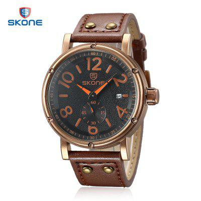 SKONE 9429EG Men Quartz Watch