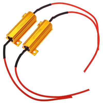 2pcs LT25 Car LED Turn Signal Brake Decoder