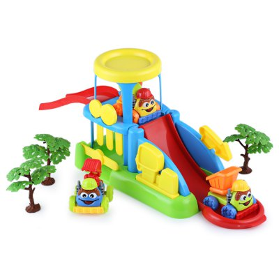 Children Cool Parking Lot Toy Set