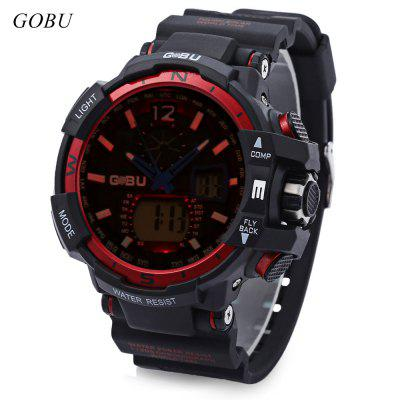 GOBU 1539 Male Dual Movt Sports Watch