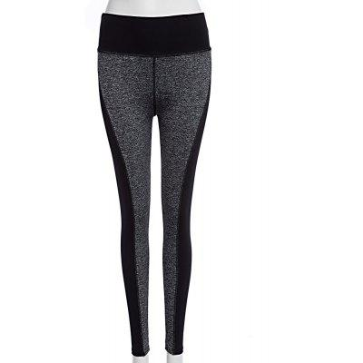 Polyester Fiber Female High Waist Leggings Yoga Running Pants