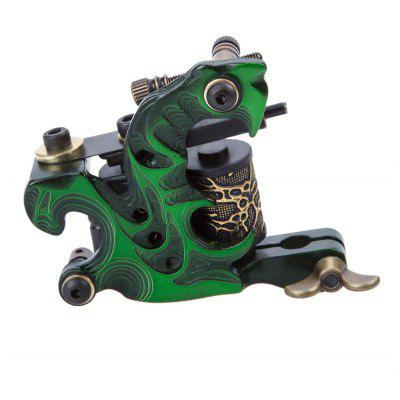 8 Wraps Coils Cast Iron Tattoo Machine Gun Shader