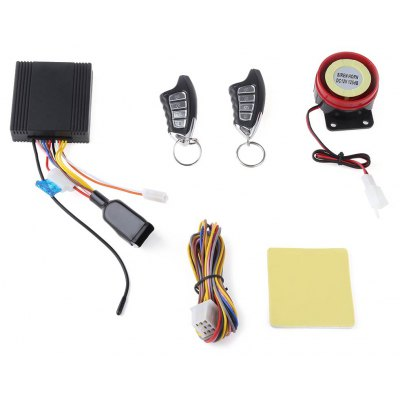 LM898FS One-way Motorcycle Burglar Alarm System