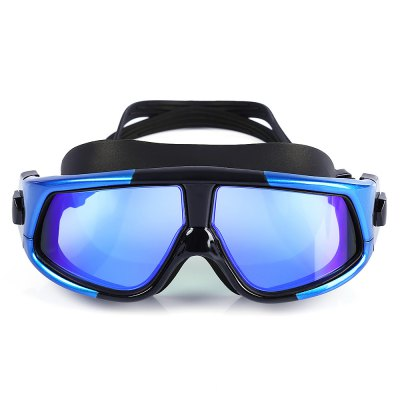 Big Frame Multi Color Anti-fog UV Swim Goggles Glasses