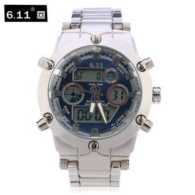 6.11 8148 Male Dual Movt Watch