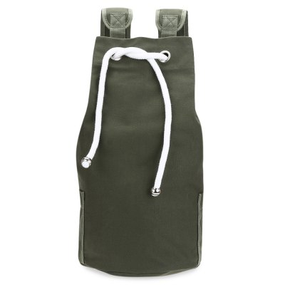 Drawstring Canvas Bucket Gym Bag Portable Men BackpackBackpacks<br>Drawstring Canvas Bucket Gym Bag Portable Men Backpack<br><br>Backpack Capacity: 10~20L<br>Capacity: 11 - 20L<br>Features: Foldable<br>For: Hiking<br>Material: Canvas<br>Package Contents: 1 x Gym Bag Portable Backpack<br>Package size (L x W x H): 21.50 x 16.00 x 12.50 cm / 8.46 x 6.3 x 4.92 inches<br>Package weight: 0.4430 kg<br>Product size (L x W x H): 25.00 x 25.00 x 48.00 cm / 9.84 x 9.84 x 18.9 inches<br>Product weight: 0.4500 kg<br>Strap Length: Handle length: 7 cm / 2.76 inch, Range of backpack strap: 16 - 34 cm / 6.3 - 13.39 inch<br>Type: Backpack