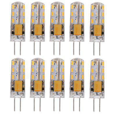 Lightme 10PCS G4 2W SMD 3014 ampoule LED