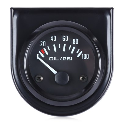 B742 Auto Digital Oil Pressure Gauge