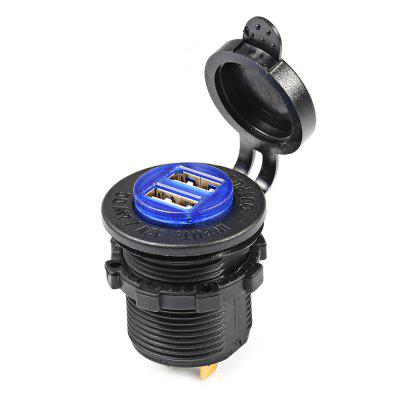 C941 5V 4.2A Double USB Vehicle Power Plug