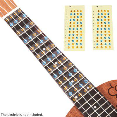 Ukulele Fingerboard Frets Stickers for Beginners