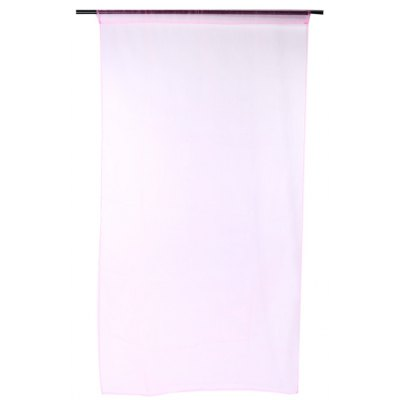 Buy PINK 100x200cm Sheer Voile Window Curtain for $4.68 in GearBest store