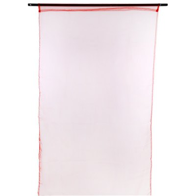 Buy RED 100x200cm Sheer Voile Window Curtain for $4.68 in GearBest store