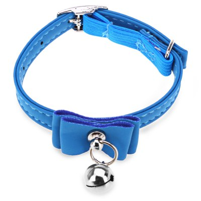 Pet Collar Bowtie Bell
