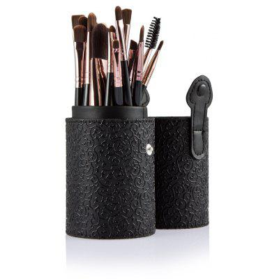 20pcs Eye Makeup Foundation Brush with Black Storage Case