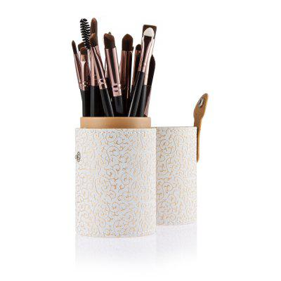 20pcs Eye Makeup Foundation Brush with White Storage Case