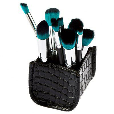 10pcs Lady Cosmetic Brushes with Storage Box