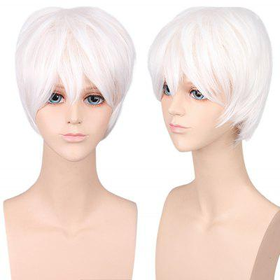 Unisex Anime Fashion Cosplay Short Straight Full Wigs