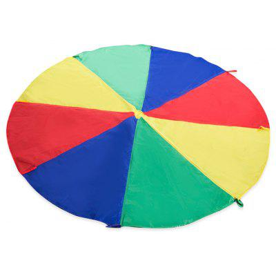 2m Colorful Children Kids Rainbow Umbrella Parachute Toy