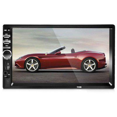Buy 7018B 7 Inch Bluetooth V2.0 Car MP5 Player, BLACK, Automobiles & Motorcycle, Car DVD Player for $58.33 in GearBest store