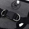Pething Pet Harness Mesh Cloth Dog Collar Chest Leash - BLACK