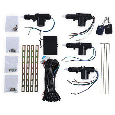 12V Four Actuator Motor Door Central Lock  with Remote Control