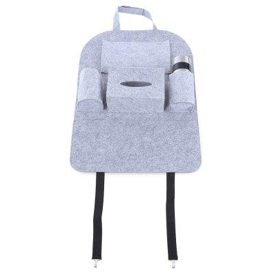 Multi-pocket Car Vehicle Seat Back Storage Bag