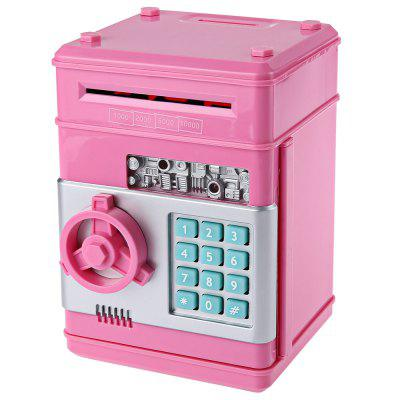 Kids Mini Electronic Money Bank Coin Cash Saving Box Toy