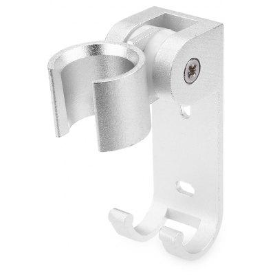 Shower Pedestal Adjustable Spray Nozzle Bracket with Hook