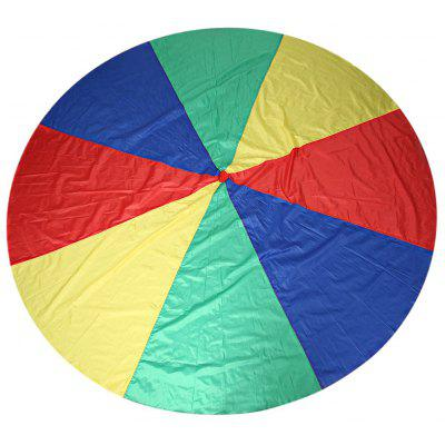 Colorful Kids Rainbow Umbrella Parachute Toy