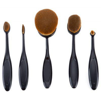 5pcs Professional Multi-size Cosmetic Makeup Brushes Sets