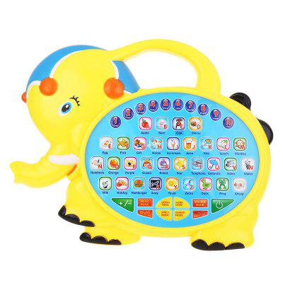 Kids Elephant Learning Machine Toy