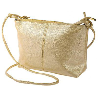 Guapabien Ladies Old Classical Solid Color Zipper Multi Functional Shoulder Cross Body Bag