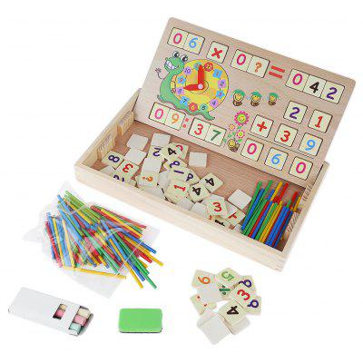 Multifunctional Counting Sticks Learning Box Toy