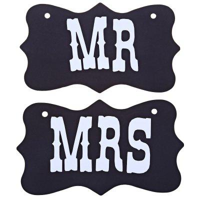 MR MRS Wedding Photo Props