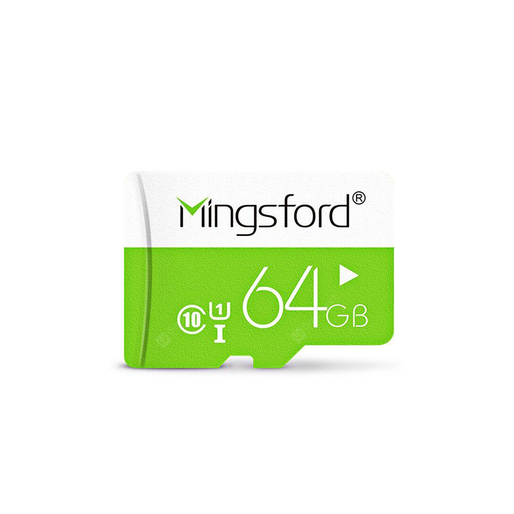 Mingsford Micro SD / TF Memory Card Class 10 - GREEN 64GB