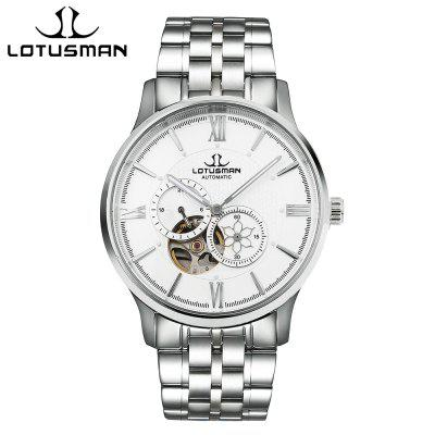 LOTUSMAN DM502SWA Men Automatic Mechanical Watch