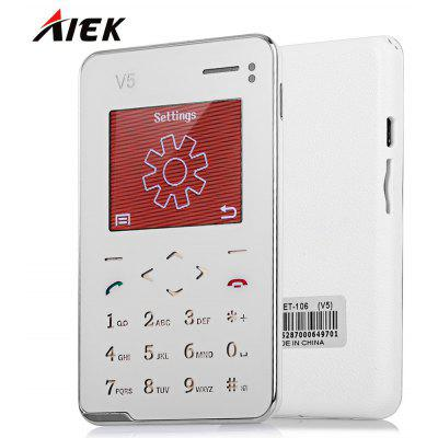 AIEK V5 1.8 inch Quad Band Card Phone