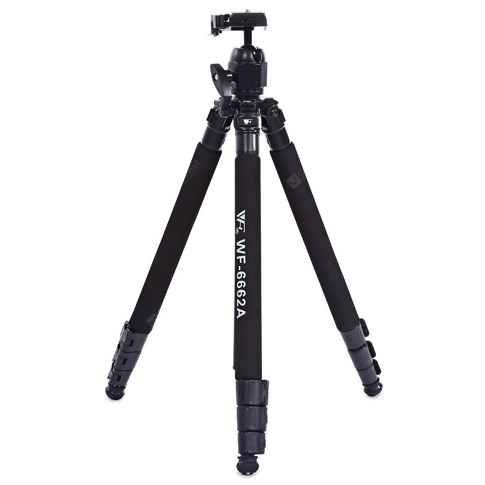 Weifeng WF - 6662A Ball Head Camera Tripod with Carrying Bag