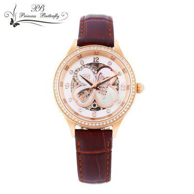 Princess Butterfly HL598 Women Automatic Mechanical Watch