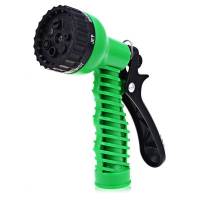 Multifunction 7-pattern Plastic Watering Nozzle High Pressure