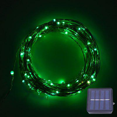 Buy COLORMIX 12M 120 LEDs Solar Powered Copper String Light for $10.69 in GearBest store