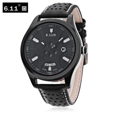 6.11 NO - 001 Men Photovoltaic Energy Quartz Watch