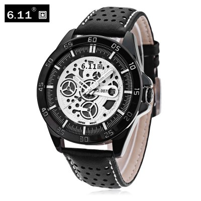 6.11 NO - 007 Male Photovoltaic Energy Quartz Watch