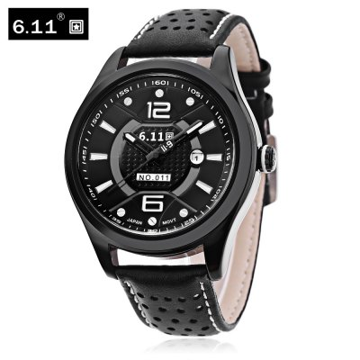 6.11 NO - 011 Male Photovoltaic Energy Quartz Watch