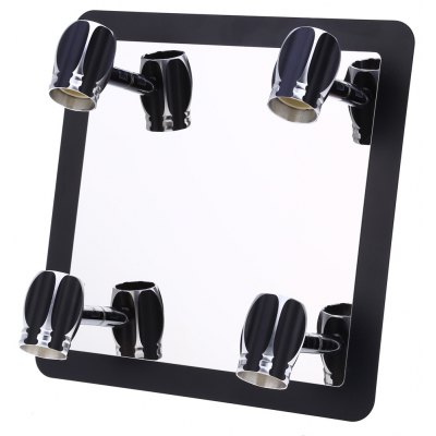 Lightme 3W 4 Bulb Bathroom LED Mirror Front Lamp