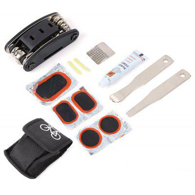 Bicycle Repair Tyre Set Kit Glue Service Bag