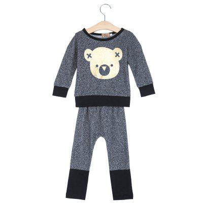 2pcs Trendy Children Panda Printed Long Sleeve Round Collar Tops TrousersBoys Clothing Sets<br>2pcs Trendy Children Panda Printed Long Sleeve Round Collar Tops Trousers<br><br>Closure Type: Pullover<br>Collar: Round Neck<br>Decoration: Pattern<br>Fabric Type: Broadcloth<br>Gender: Unisex<br>Material: Cotton<br>Package Contents: 1 x Tops, 1 x Trousers<br>Package size (L x W x H): 1.00 x 1.00 x 1.00 cm / 0.39 x 0.39 x 0.39 inches<br>Package weight: 0.217 kg<br>Pattern Style: Animal,Print<br>Product weight: 0.159 kg<br>Season: Autumn<br>Sleeve Length: Full<br>Sleeve Style: Regular<br>Style: Fashion<br>Weight: 0.217kg