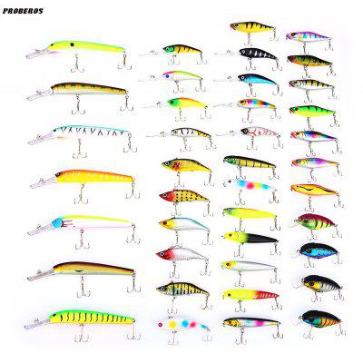 Proberos 40pcs Fishing Lure Simulated Bait