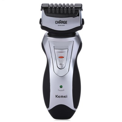 Kemei KM-8007 Men Rechargeable Cordless Electric Shavers RazorElectric Shavers<br>Kemei KM-8007 Men Rechargeable Cordless Electric Shavers Razor<br><br>Charging Time: 12 Hours<br>Feature: Twin Blade<br>Gender: Male<br>Package Content: 1 x Electric Shaver, 1 x Cleaning Brush, 1 x Bilingual User Manual in English and Chinese<br>Package size (L x W x H): 16.00 x 11.50 x 5.50 cm / 6.3 x 4.53 x 2.17 inches<br>Package weight: 0.223 kg<br>Power Type: Rechargeable<br>Product Size(L x W x H): 13.00 x 5.00 x 4.00 cm / 5.12 x 1.97 x 1.57 inches<br>Product weight: 0.106 kg<br>Usage Time: 30Minutes<br>Use: Face<br>Voltage: 220V<br>Washing Mode: Do Not Wash<br>With Trimming Device: Yes