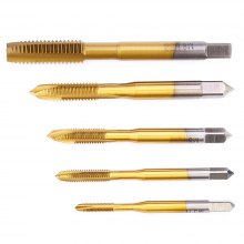 5pcs M3 - M8 Titanize Drill Bit Screw Tap